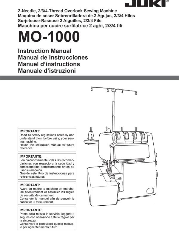 MO-1000-Manual