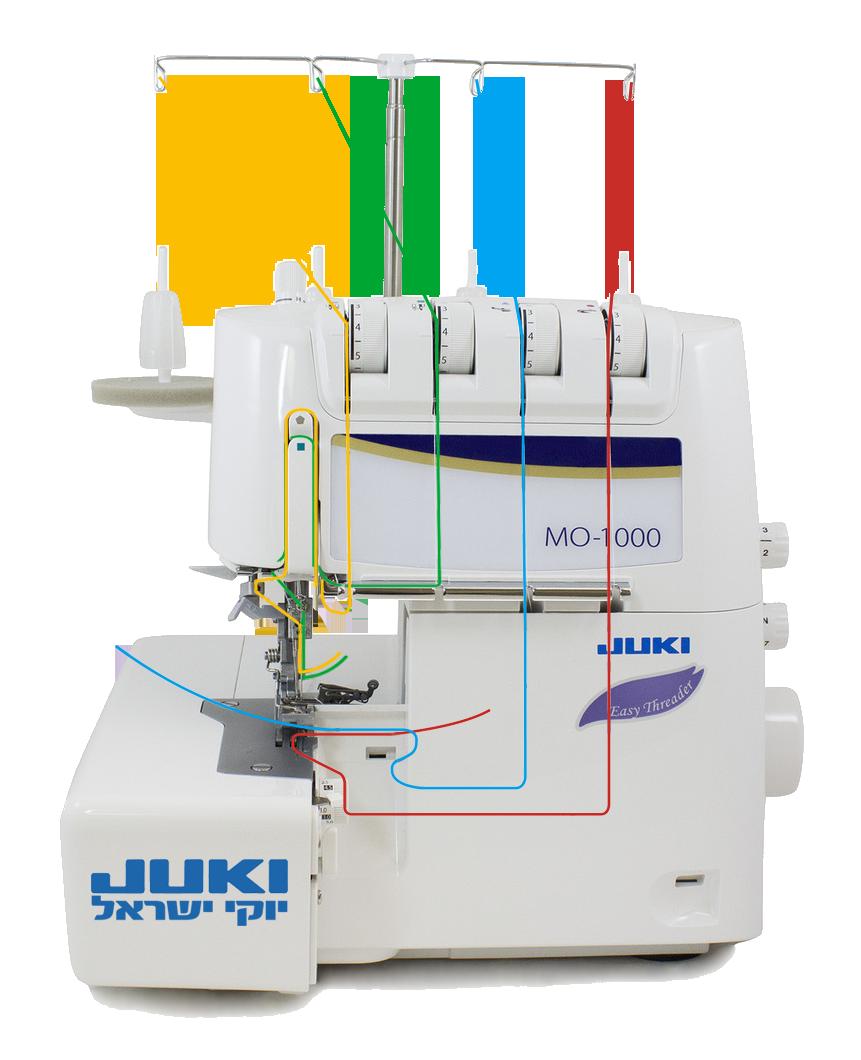 השחלה אוטומטית אוברלוק Juki MO-1000