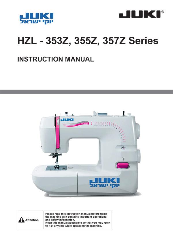 HZL-353,355,357-Manual